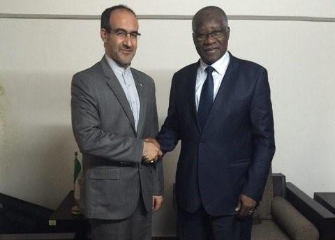 دیدار سفیر ایران با وزیر امور خارجه جدید گینه