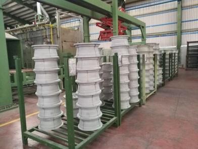 افتتاح فاز دوم طرح توسعه کارخانه توليد رينگ در رفسنجان
