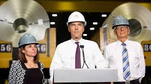 سود بالای کانادا از اعمال تعرفه مالیاتی بر واردات فولاد و آلومینیوم آمریکا