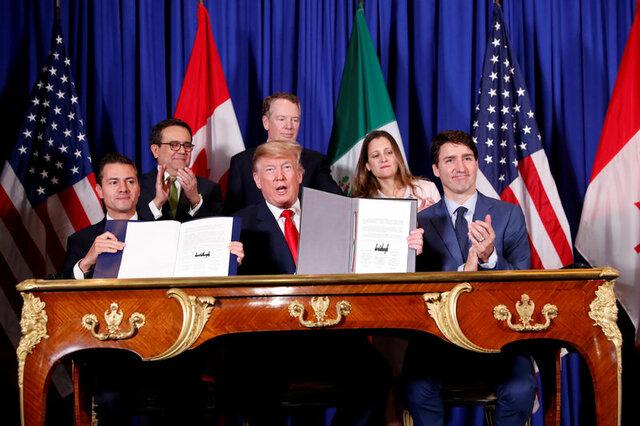 ترامپ: تعرفه واردات فولاد و آلومینیوم کانادا و مکزیک حذف میشود