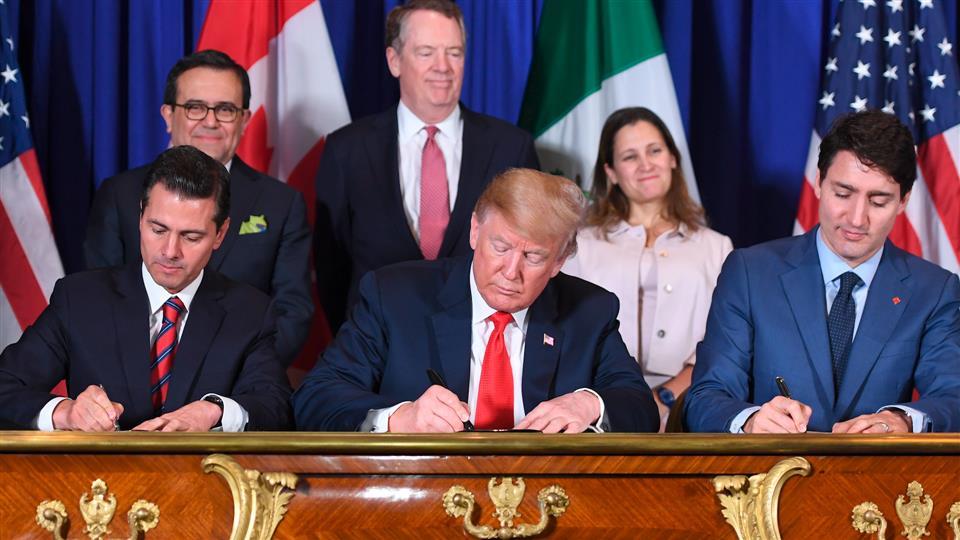 « کانادا » ایالاتمتحده را در رابطه با قرارداد نفتا تهدید کرد