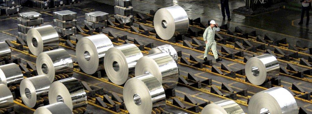 افزایش صادرات ورق و پلیت آلومینیومی چین در ماه می علیرغم اعمال تحریمها