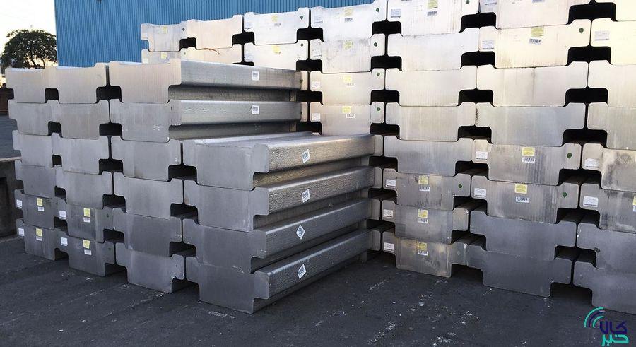 تولید آلومینیوم در آمریکای جنوبی در ماه ژوئن بیش از ۸% افزایش یافت
