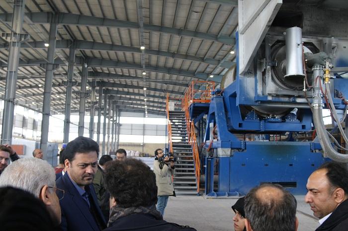 راه اندازی سیستم فیلتراسیون شرکت تولید آلومینیوم فن آوران در شهرک صنعتی شمس آباد