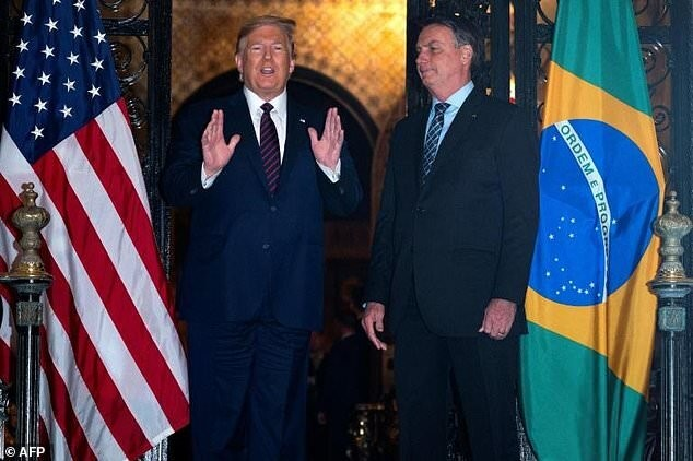 ترامپ: درباره تعرفه آلومینیوم و فولاد علیه برزیل تعهدی نمیدهم