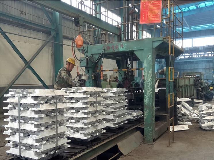 بزرگترین تولیدکنندگان آلومینیوم در ماه آوریل