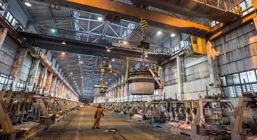 تغییر روش تولید واحد ذوب آلومینیوم Krasnoyarsk روسال به فرآیند EcoSoderberg