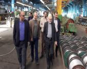 نشست مدیران عامل شرکتهای سیمکو و آلومتک و آلومراد برگزار شد