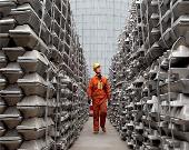 تولید جهانی 64 میلیون تن آلومینیوم در سال 2019 میلادی/بیش از 50 درصد تولید در اختیار چین