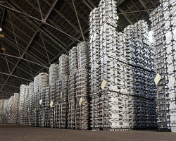 کاهش میزان تولیدات شمش خالص آلومینیومی در جهان