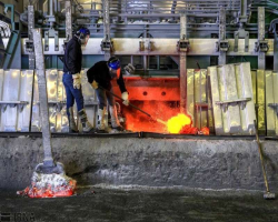 پنج ماهه امسال بیش از ۱۰۳ هزار تن شمش آلومینیوم تولید شد