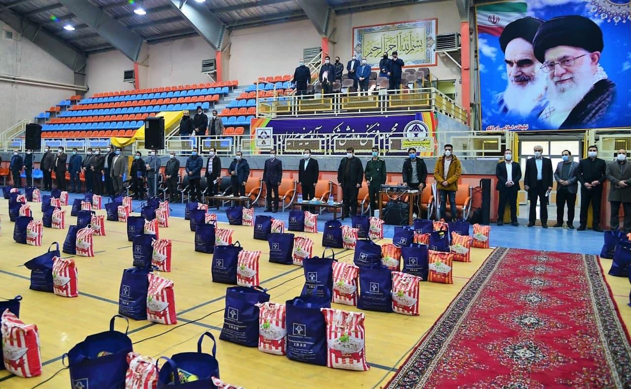برگزاری آیین معنوی رزمایش کمک مؤمنانه در شرکت آلومینیوم ایران «ایرالکو»