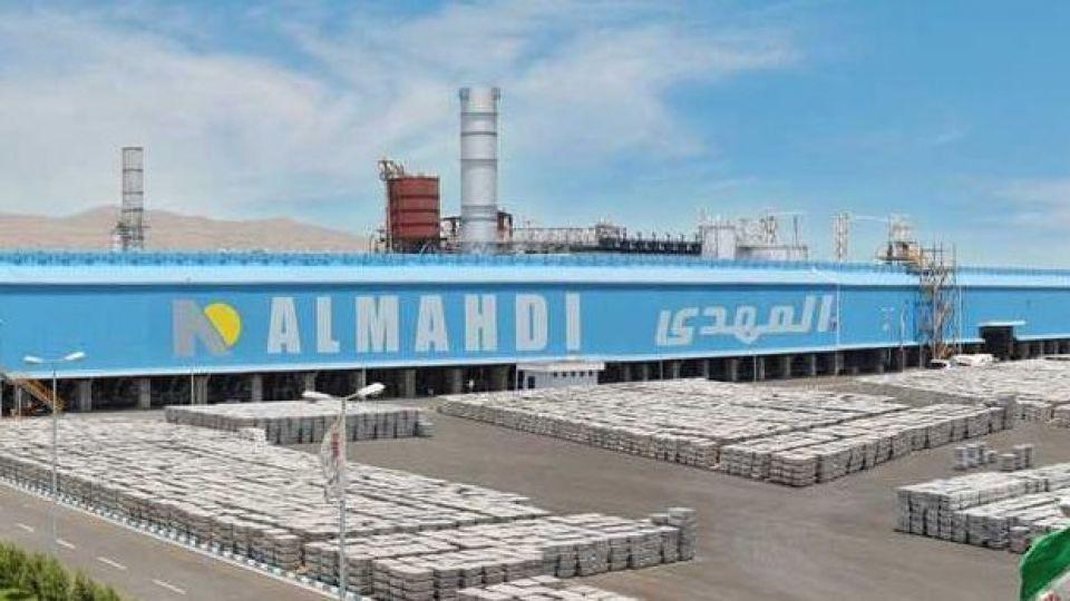 شرکت آلومینیوم المهدی، در میان پنج شرکت برتر تولیدی کشور