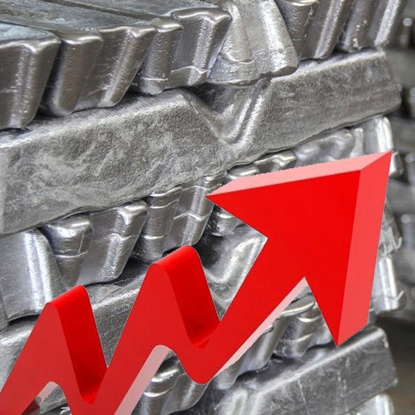 آغاز هفته با پیک قیمت آلومینیوم