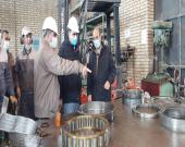 """تعمیر پمپ """"ارسال گِل به سد باطله"""" توسط متخصصان شرکت آلومینای ایران"""