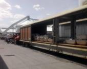 شمش آلومینیوم برای نخستین بار از راهآهن اراک به خارج از کشور صادر شد