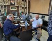 ثبت قرارداد کشتی گیران و مربیان با مجتمع آلومینیوم حکمتی