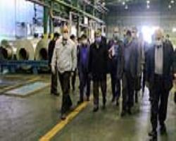 جلسه بررسی آخرین وضعیت شرکت آلومینیوم سازی پارس