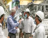 صرفهجویی ۷۱ مگاواتی انرژی برق در مجتمع صنایع آلومینیوم جنوب